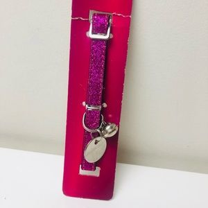 Cat collar with Bell ~ Sparkling Purple | NEW